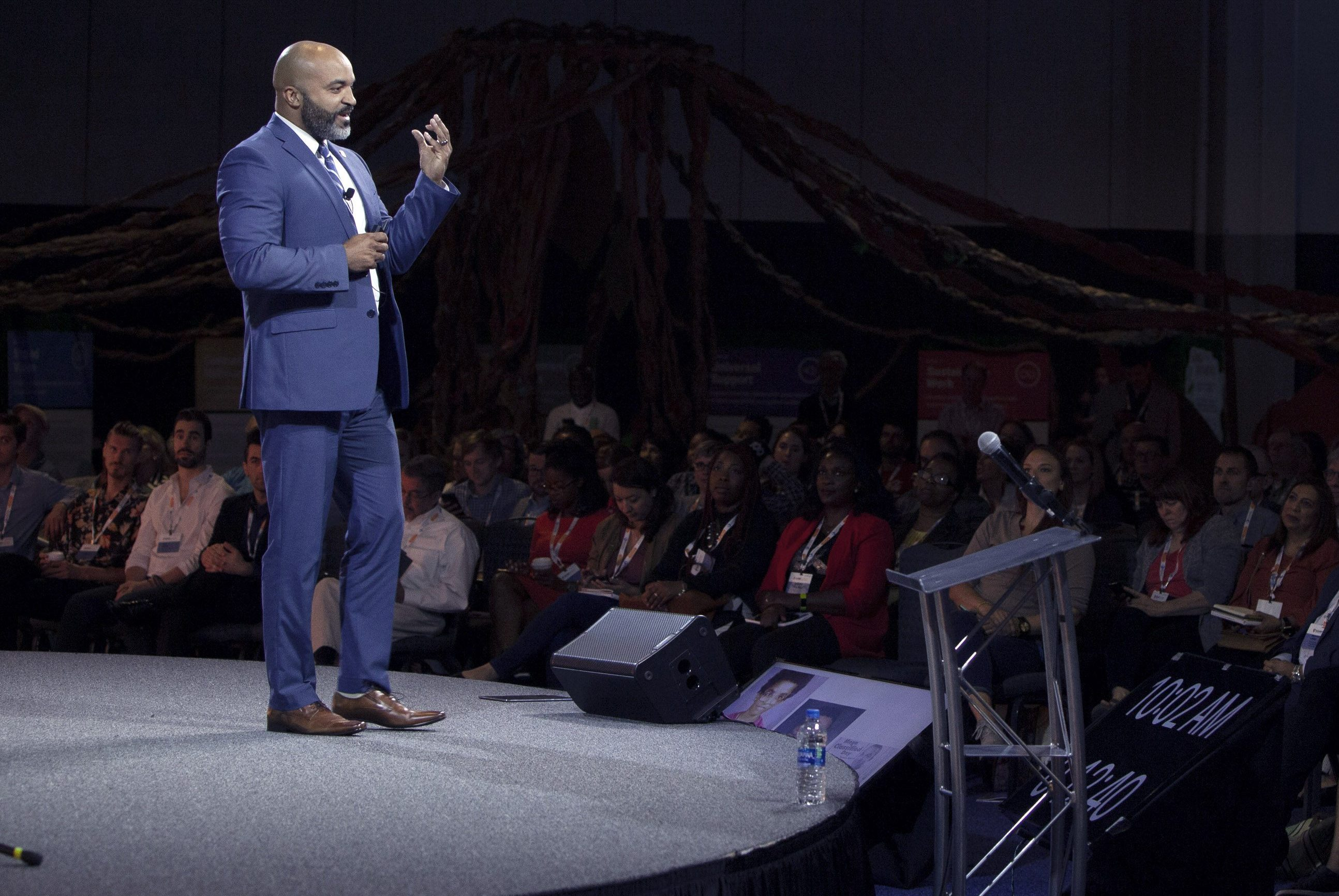 Dell Gines speaks at EShip summit 2019