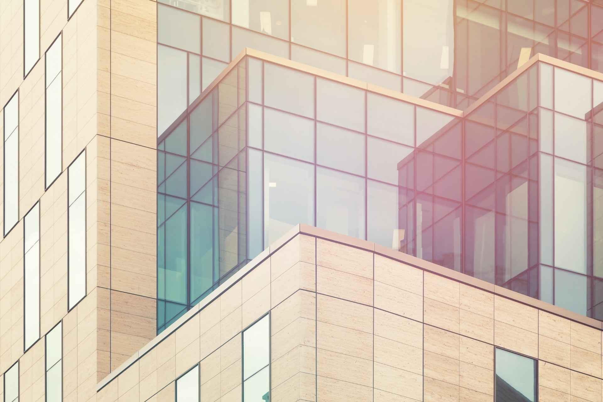 Glass Windows on Building