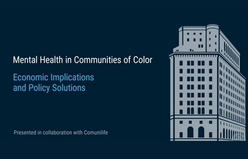 Mental Health in Communities of Color Event