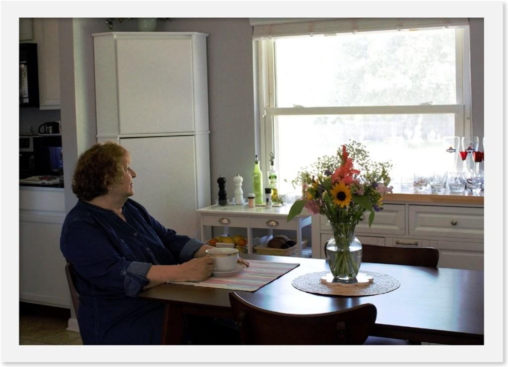 Vicenta Greene in her kitchen. Photo credit: Vanessa Garnica